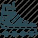 inline skates, roller skates, skate shoes, skates icon