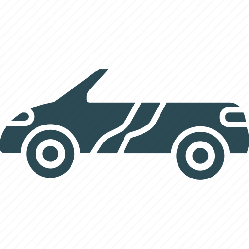 automobile, car, ferrari, roofless car icon