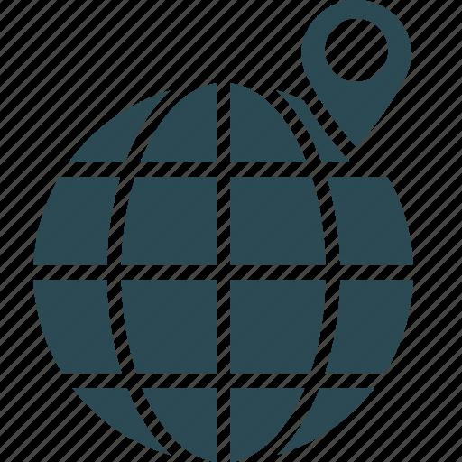 global location, location marker, location pin, map locator icon