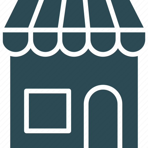 market, retail shop, shop, shopping store icon
