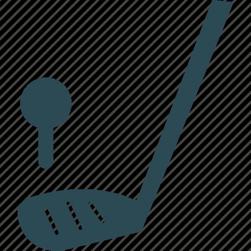 golf, golf ball, golf club, golf stick icon