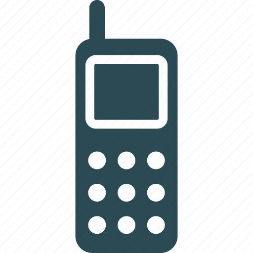 cordless phone, intercom, police radio, radio transceiver icon