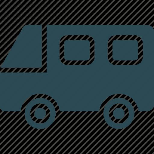 bus, public bus, transport, travel icon