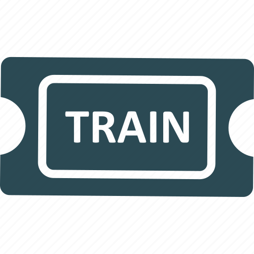 ticket, tourism, train ticket, travel ticket icon