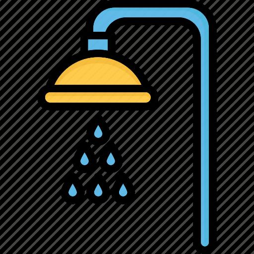 bath, bath sprinkler, shower, shower head icon