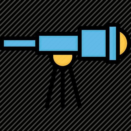 astronomy, planetarium, spyglass, telescope icon