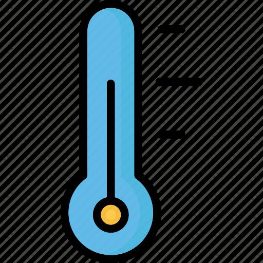 climate, temperature, temperature scale, thermometer icon