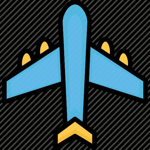 aeroplane, air travel, aircraft, airplane icon