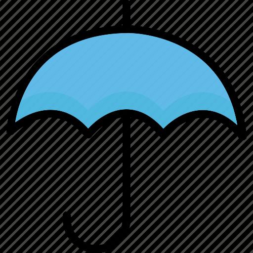 canopy, rain protection, sun protection, sunshade icon