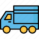 cargo, delivery van, shipment, shipping truck icon