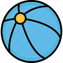 ball, beach ball, game, sports ball icon