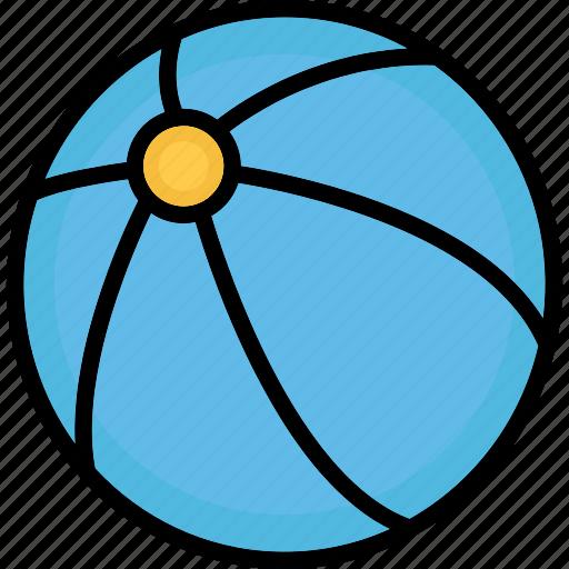 ball, beach ball, game, sports ball icon