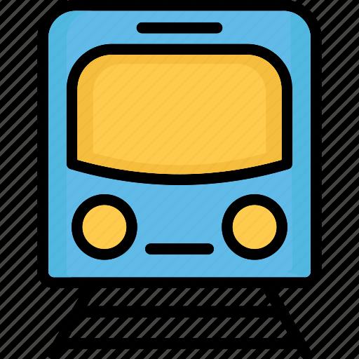 locomotive, subway, train, tram icon