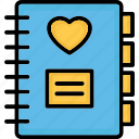 notebook, notepad, notes, scratch pad icon