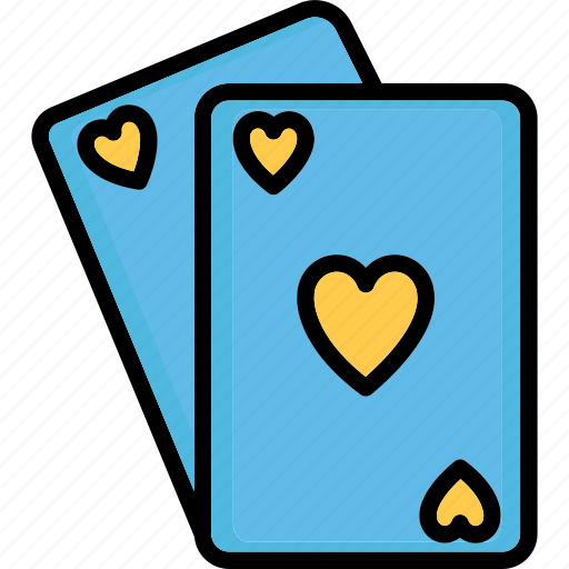 ace of heart, casino, heart card, playing card icon