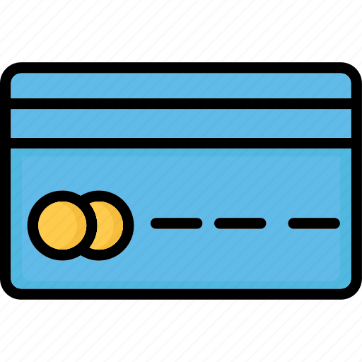 bank card, cash card, credit card, plastic money icon