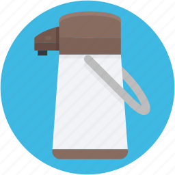 thermos, thermos flask, travel flask, vacuum flask icon