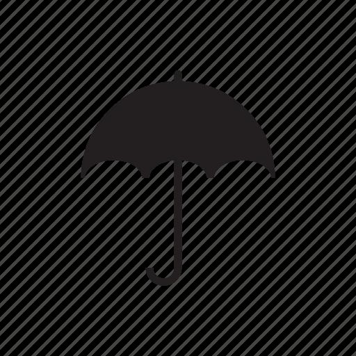 cloud, cold, forecast, rain, summer, umbrella, weather icon