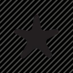 beach, star, starfish, summer icon