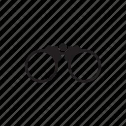 binocle, eyes, optic, view, zoom icon