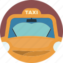move, taxi, travel, vehicles icon