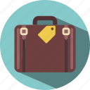 bag, conflict, suitcase, travel icon