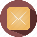 gmail, letter, message, travel icon