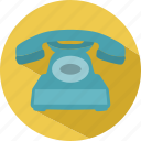 contact, phone, traditional, travel icon