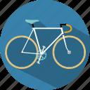 bicycle, bike, move, travel, vehicle icon