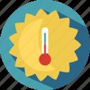 climate, sun, temperature, travel icon