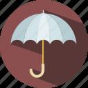 season, shield, travel, umbrella, weather icon