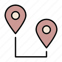 distance, follow, range, route, tracking, gps