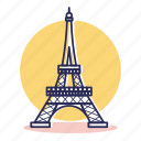 city, destination, europe, france, paris, tower, travel