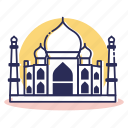 asia, destination, india, islam, taj, taj mahal, travel