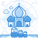 destination, holiday, russia icon