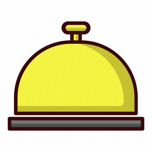 bell, hotel, lodgement icon