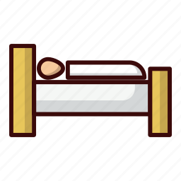 homestay, hotel, lodgement, sleep icon