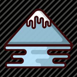 ice mount, mount, mountain, travel icon