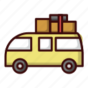 car, picnic, transportation, travel icon