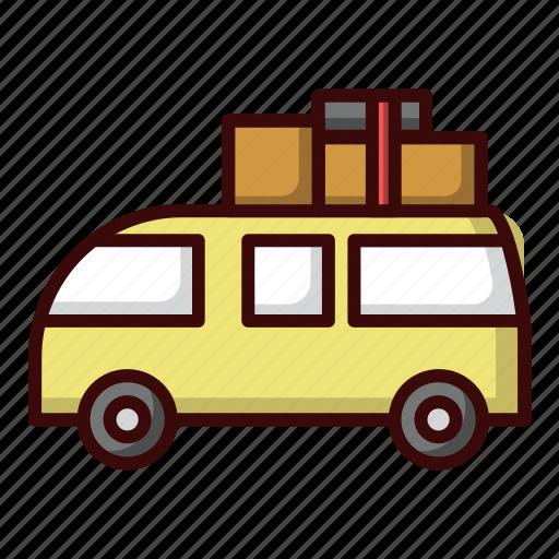 car, picnic, transportation, travel icon