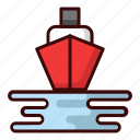 hairbour, sailor, sea, ship, transportation, travel icon