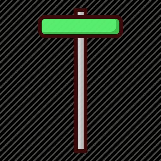 name, sign, street icon