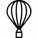 air, balloon, holiday, tourism, transportation, travel, vacation icon