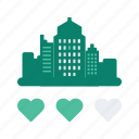 building, city, holiday, hotel, rating, travel, vacation icon