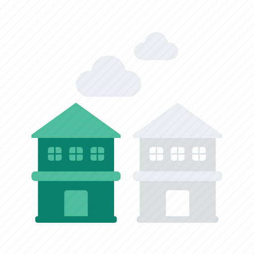 building, holiday, hotel, neighbour, travel, vacation icon
