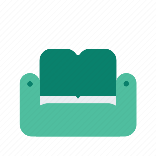 couch, holiday, hotel, travel, vacation icon