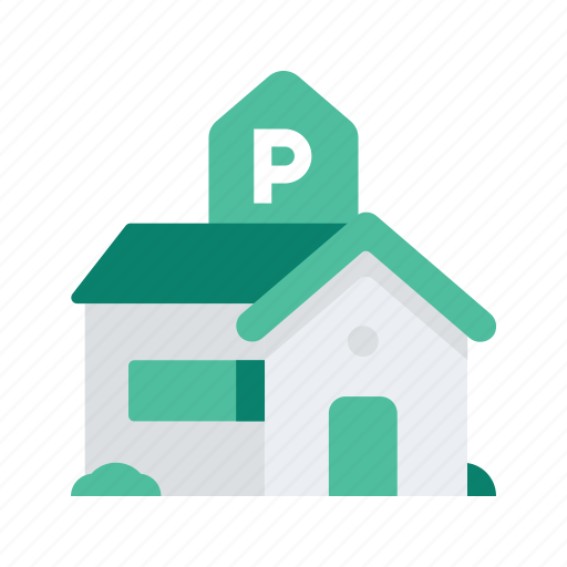 building, holiday, hotel, park, travel, vacation icon