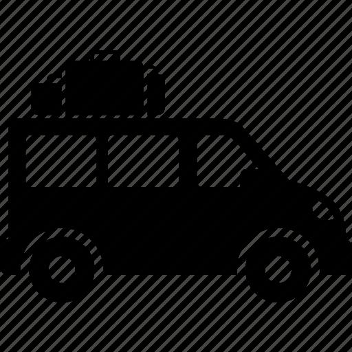 bus, mini, passenger, transport, transportation, van, vehicle icon