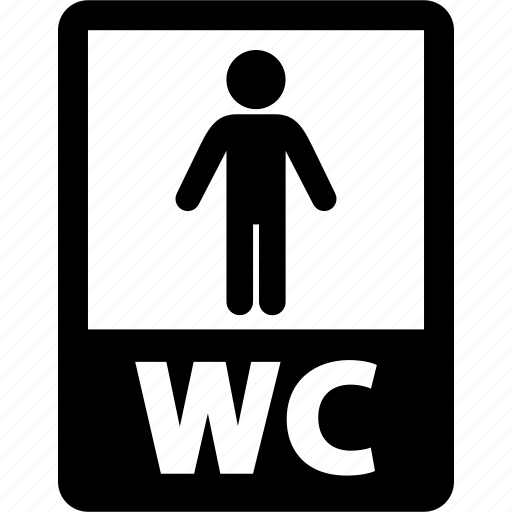bathroom, human, man, restroom, toilet, wc icon