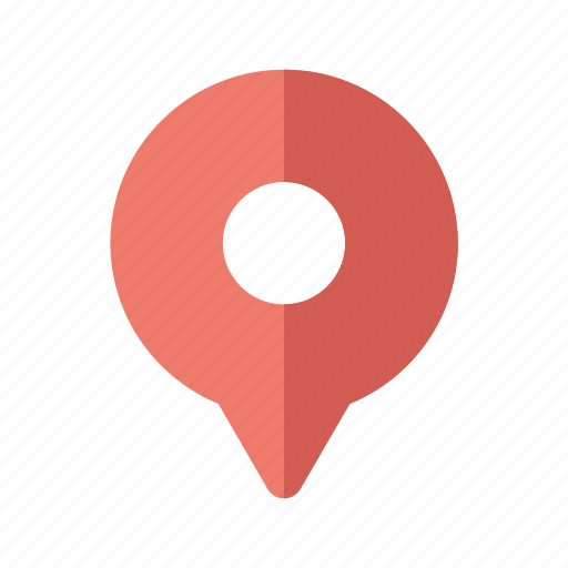 destination, map, mark, pin, point, travel icon